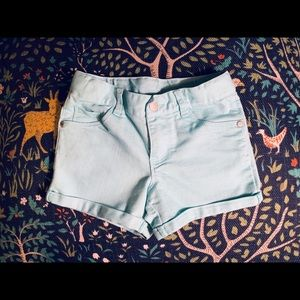 OshKosh denim shorts size 5T
